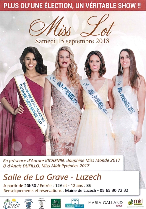 Election de Miss Lot