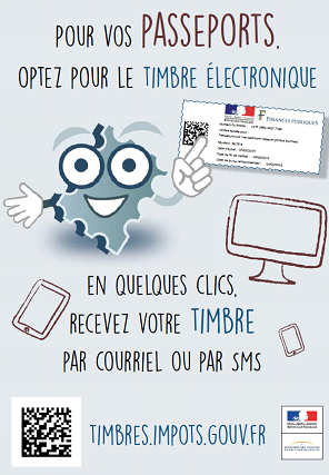 affiche timbre electro